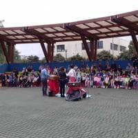 Bari, il giardino della scuola diventa parco di quartiere