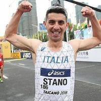 Mondiali di marcia, il pugliese Stano è bronzo nella 20 km in Cina