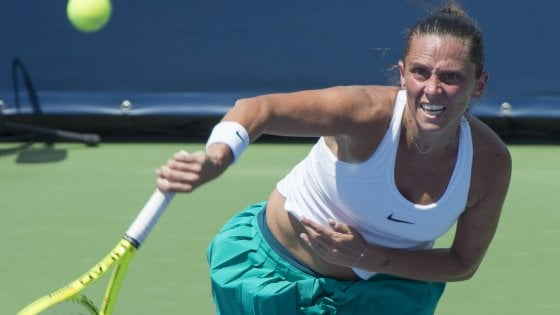 Roberta Vinci dice addio al tennis: