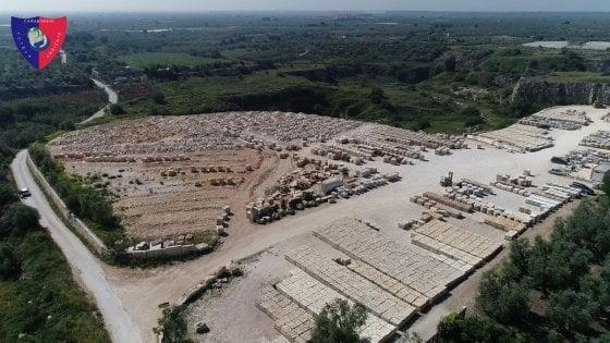 Trani, materiale tossico tra gli scarti del marmo: sequestrata area di 40mila metri quadri