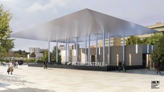 Matera, ecco come sarà la nuova stazione delle Ferrovie Appulo Lucane