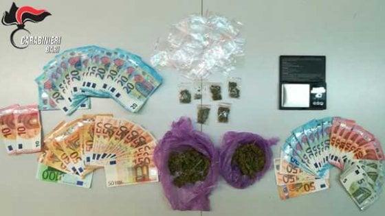 Bari, raccoglieva le prenotazioni su Instagram e vendeva la droga a scuola: arrestato pusher 17enne