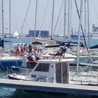 Bari, sub 70enne trovato morto nel porto davanti alla darsena: forse è annegato