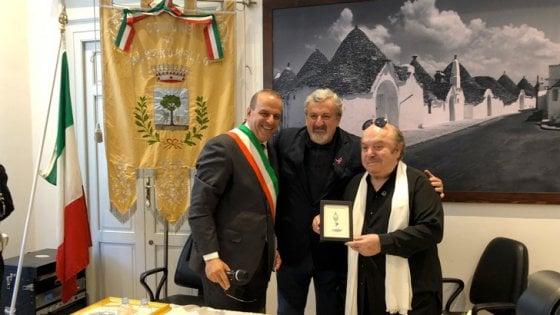 """Lino Banfi nominato cittadino onorario di Alberobello: """"Patrimonio artistico della Puglia"""""""