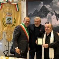 Lino Banfi nominato cittadino onorario di Alberobello: