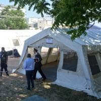 """Bari, udienze penali in tenda. Il sindaco Decaro: """"Va requisita una sede per il ..."""
