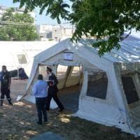 Bari, udienze penali in tenda. Il sindaco Decaro: