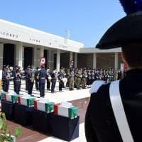 Bari, tumulati al Sacrario 5 caduti della Seconda guerra mondiale