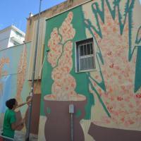 Bari, la cornetteria è un'opera di street art