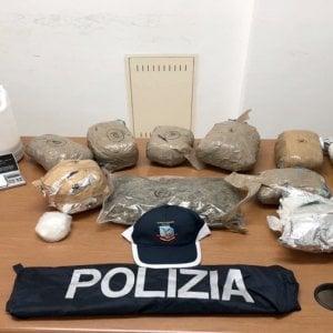 Vieste, sei chili di marijuana e cocaina mescolata al riso: due arresti nel clan Perna