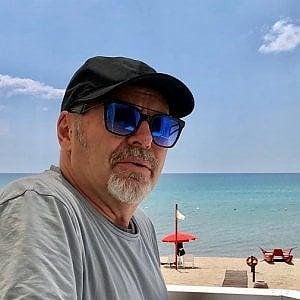 """E il Blasco si rilassa """"nel mare azzurro di Puglia"""" prima dello show"""