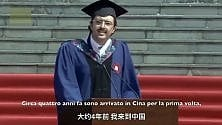 Lo studente di Trani  che ha incantato la Cina