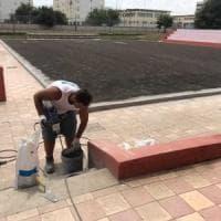 Bari, in ristrutturazione il campo di calcetto di San Pio dove Decaro giocò con i bambini