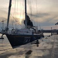 Taranto, la barca contro le leucemie chiude il giro d'Italia
