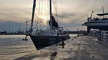 Taranto, ultima tappa per la barca di Ail