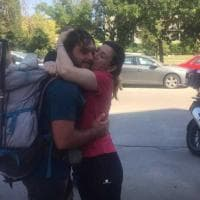 Studente di Foggia  torna a casa da Torino a piedi