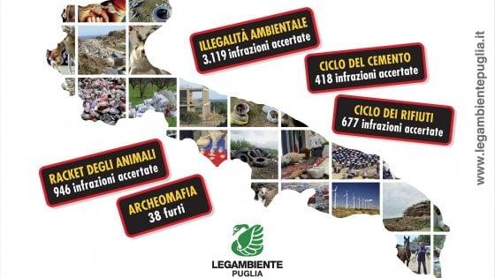 """Ecomafia, in Puglia più di 3mila reati ambientali all'anno: """"Il nemico è la corruzione"""""""
