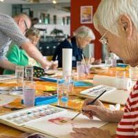 Bari, teatro e riciclo per curare i malati di Alzheimer