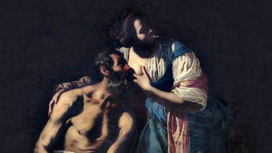 Facebook censura un dipinto di Artemisia Gentileschi  I curatori della mostra |