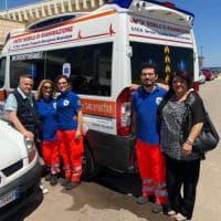 Bari, un'ambulanza dedicata alla memoria di Gaetano Marchitelli