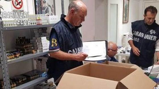 Anabolizzanti, a Lecce scoperte 500mila pasticche in un garage: 5 arresti