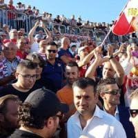 Bari calcio, 4mila tifosi con Decaro al Della Vittoria: