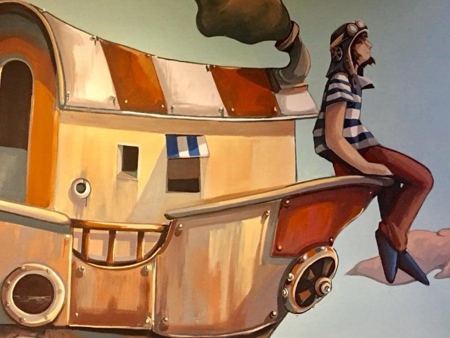 Andria, un murale 'senza sbarre' per dare speranza ai detenuti