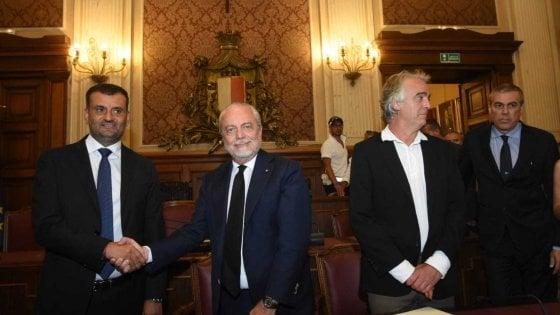 """Bari calcio, inizia l'era De Laurentiis: """"Non sarà appendice del Napoli: Arrigo Sacchi e Filippo Galli nel progetto"""""""