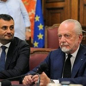 """De Laurentiis: """"Il Bari ha grandissime opportunità: è stato maltrattato"""""""