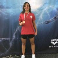 Nuoto, Manuela Mendolicchio dal Cus Bari alla medaglia d'oro nei 200 metri al Foro Italico