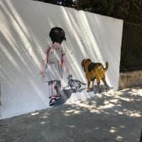 Animali, un murale a Nardò per dire no all'abbandono