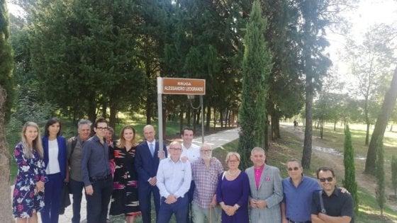 A Tirana nasce via Alessandro Leogrande per ricordare l'intellettuale morto a 40 anni