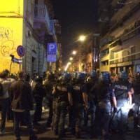 Bari, aggressione squadrista al quartiere Libertà: feriti i manifestanti