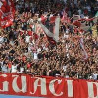 Il Bari passeggia al San Nicola con la Sancataldese (4-1): l'esordio è una festa per 12mila tifosi