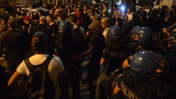 """Aggressione fascista a Bari, procedimento contro agente che su Fb ha scritto: """"Godo"""""""