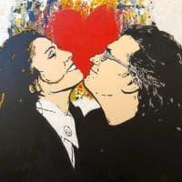 """TVboy Politically Incorrect"", lo street artist del bacio in mostra a Bari"
