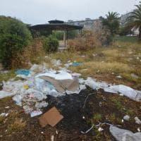 Bari, il giardino della Legalità è una discarica