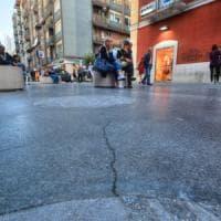 Bari, la pavimentazione di via Sparano sarà rifatta: