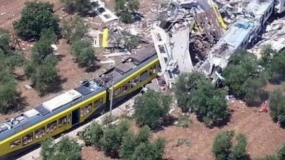 """Scontro fra treni, il gup: """"La Regione Puglia è parte lesa, non dovrà risarcire i danni"""""""
