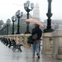 Allerta maltempo in Puglia: piogge abbondanti, forti temporali e temperature