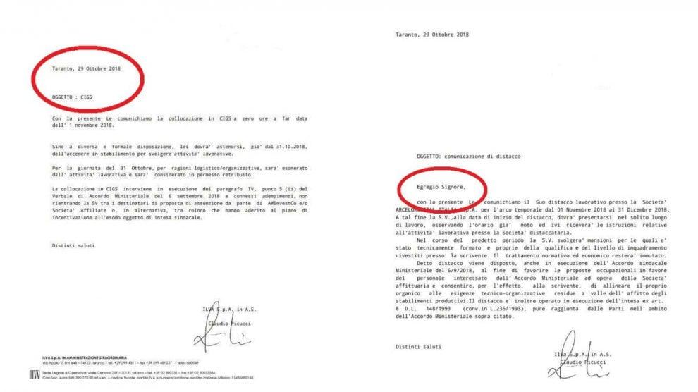 Ilva, lettera a 12mila operai: 'Egregio signore' solo per gli assunti