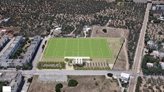 Bari, arriva il primo stadio del rugby: ci saranno anche spazi per il terzo tempo