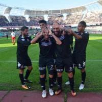 Calcio, a Bari il catenaccio del Città di Messina non basta: 1-0 e settima