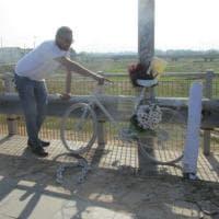 Bari, una bici per ricordare il ciclista ucciso da un pirata