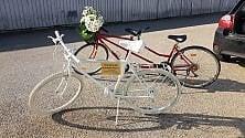 Una bici per il ciclista ucciso da un pirata