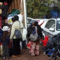 Foggia, 40 famiglie di Rom sgomberate dai capannoni dell'ex Setel