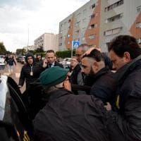 Bari, l'arresto di Tommy Parisi: blitz con l'elicottero a Japigia