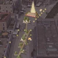 Bari, in piazza del Ferrarese un albero di Natale alto 14 metri e una 'passeggiata