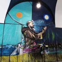 Ex Ilva:da avvocati-writers un murale contro l'ambiente devastato