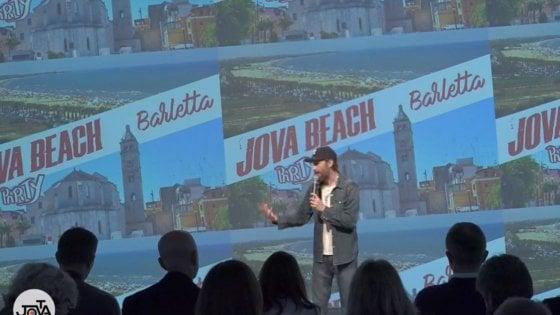 Jovanotti in concerto sulla spiaggia di Barletta: il 20 luglio c'è il Jova Beach Party